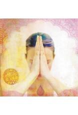 ZintenZ postcard Meditation Namasté