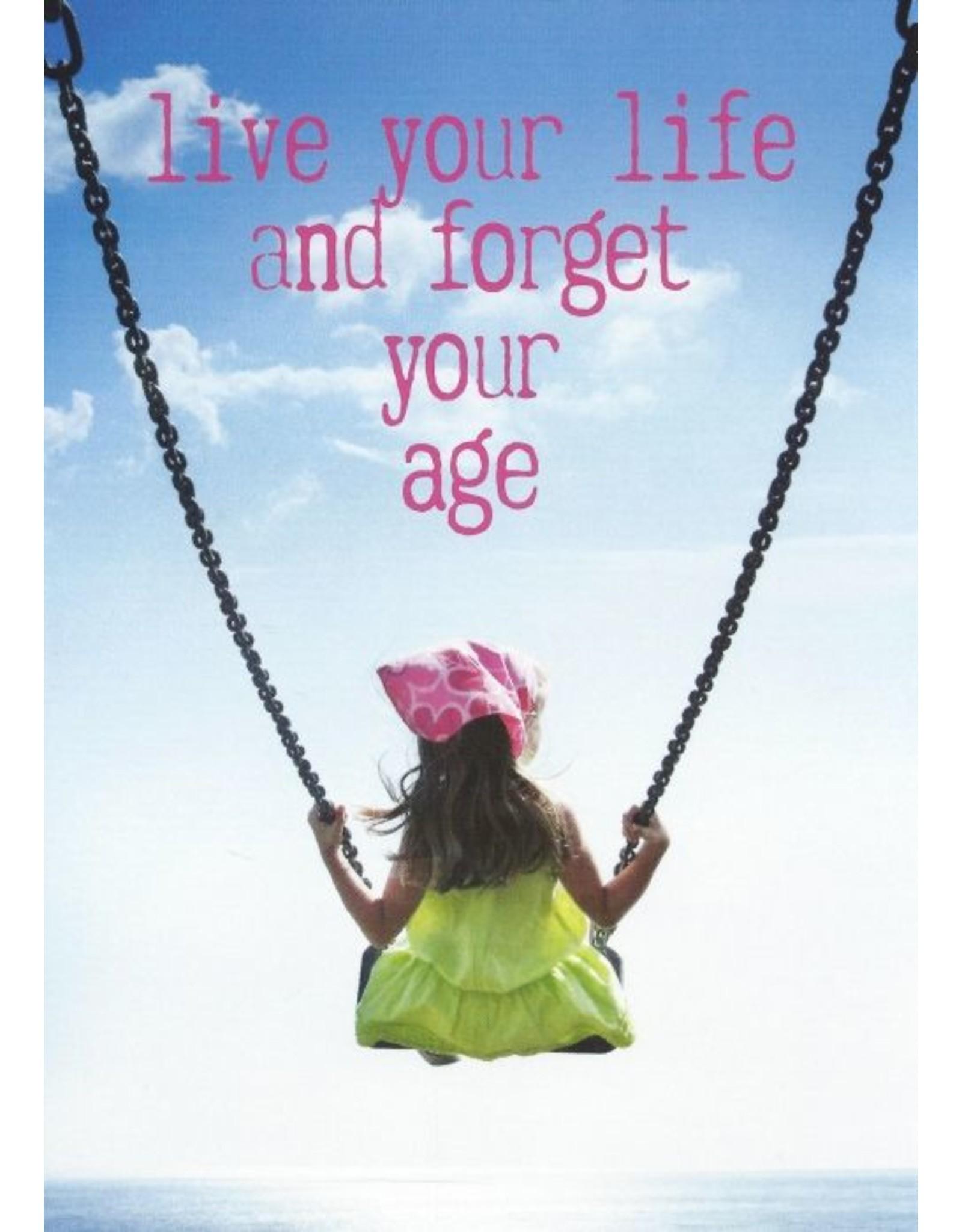 ZintenZ postkaart Live your life