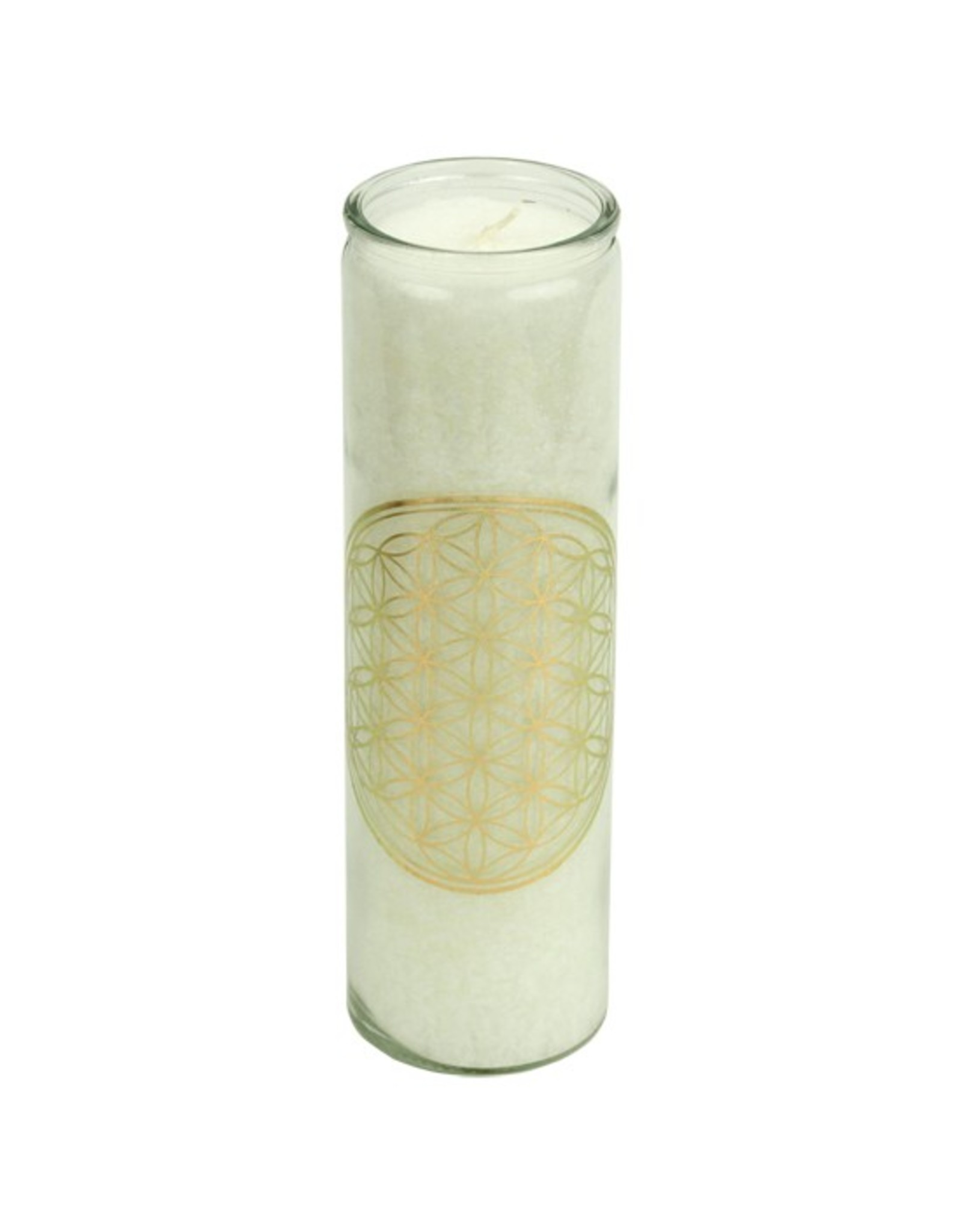 Scented candle Flower of life