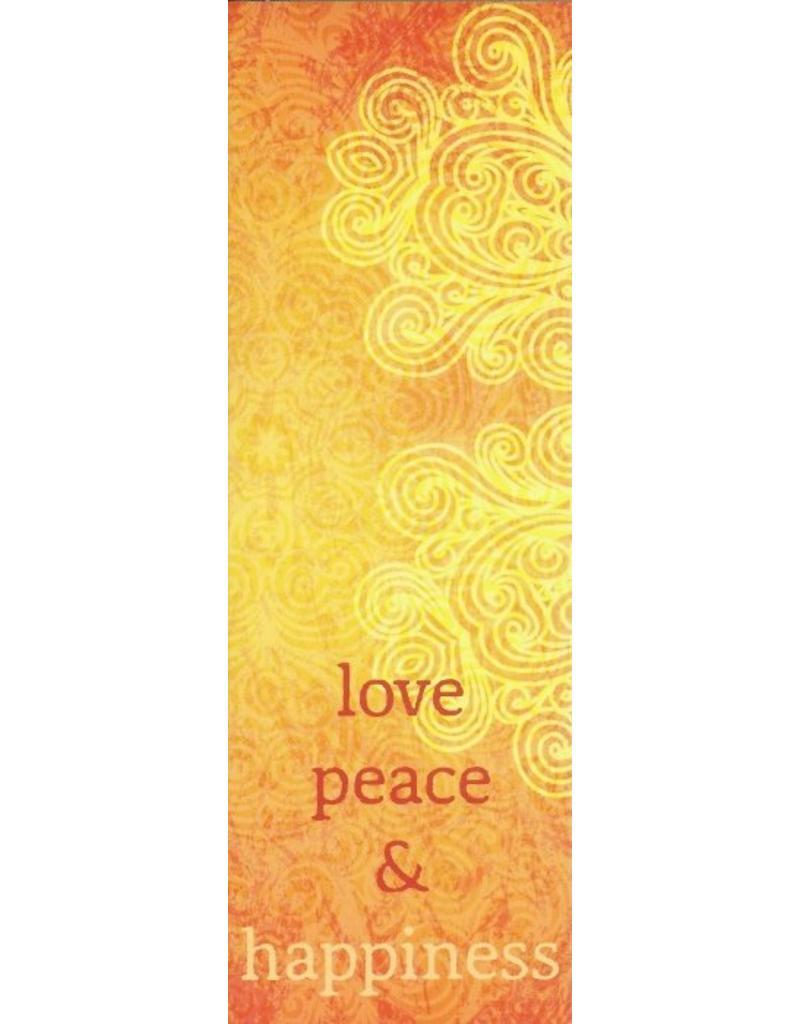 ZintenZ bookmark Love peace & happiness