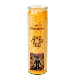 Yogi & Yogini scented candle Chakra 2 Swadhistana