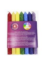 Yogi & Yogini scented candle Chakra set