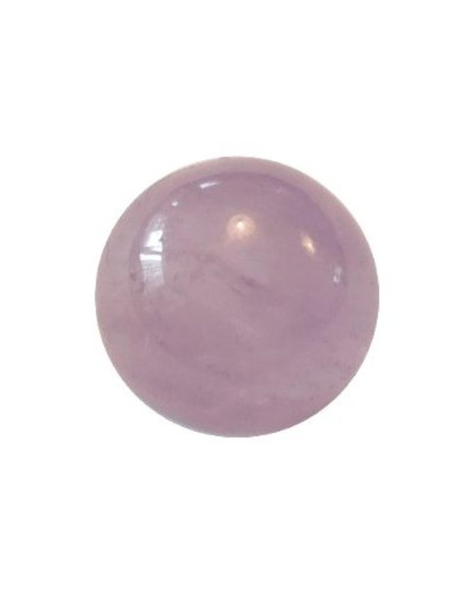 Interchangeable gemstone Amethyst violet 10 mm