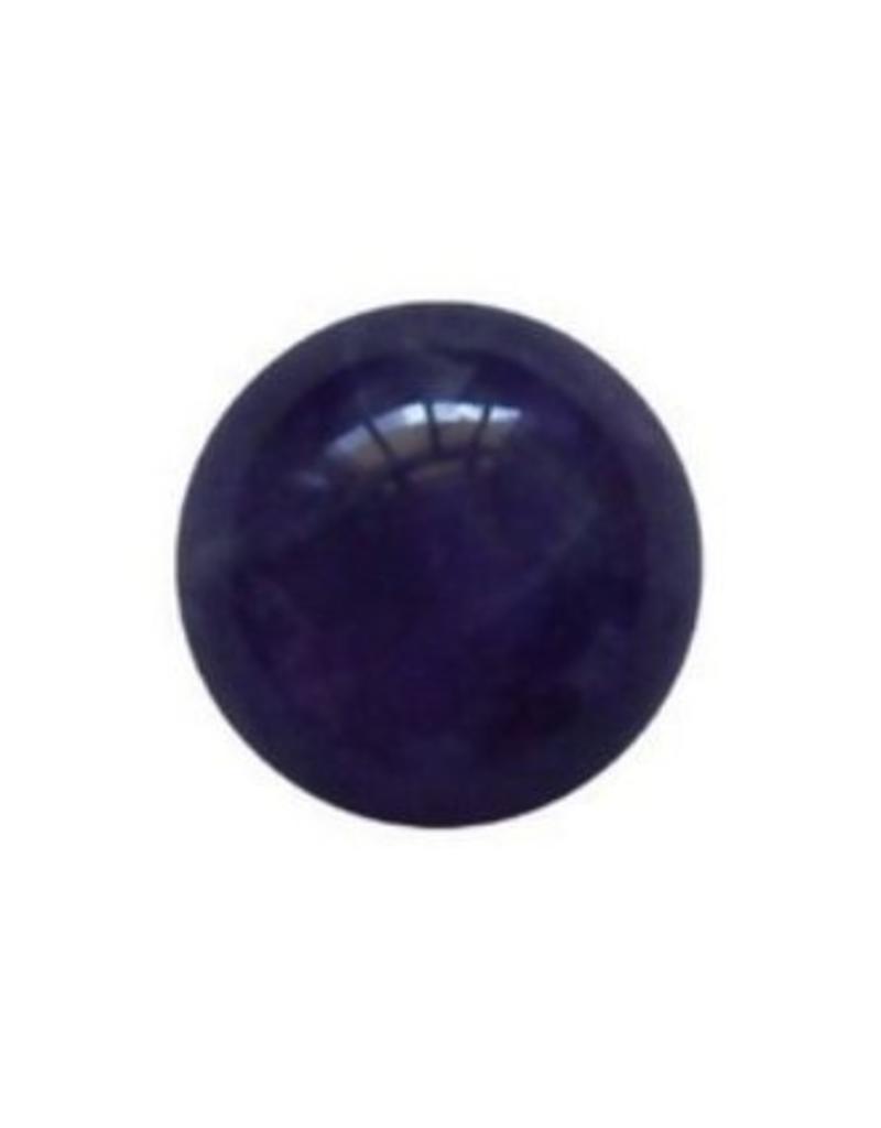 Wisselsteen Amethyst paars 12 mm