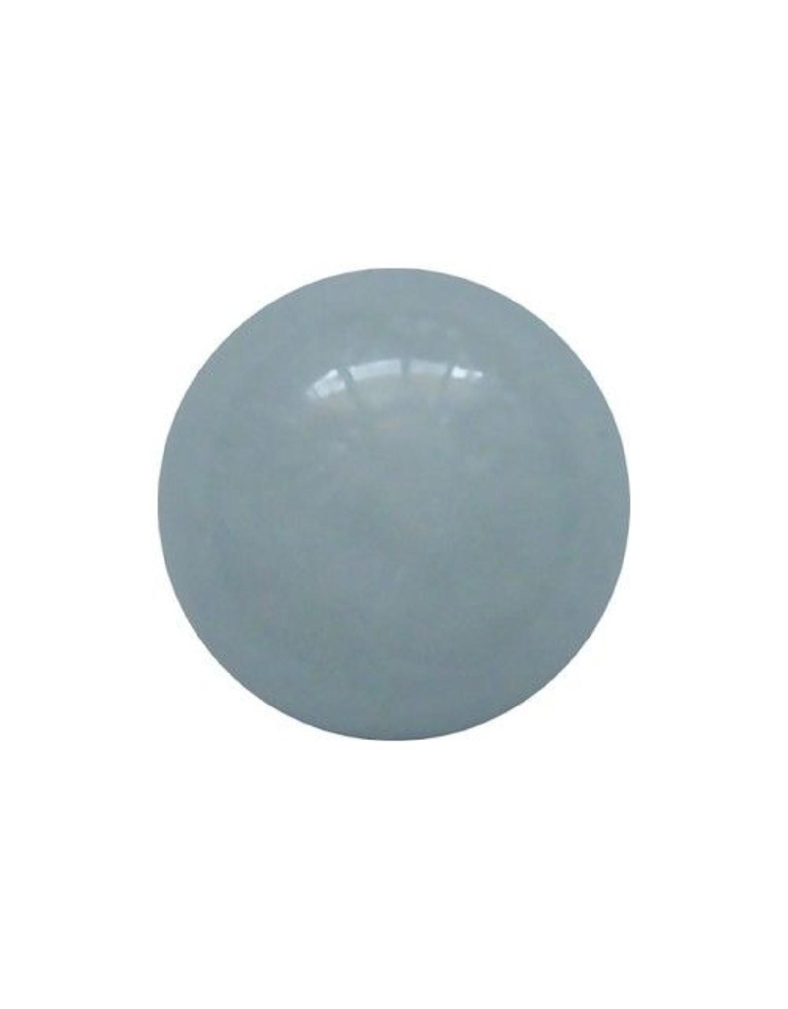 Interchangeable gemstone Aquamarine 12 mm