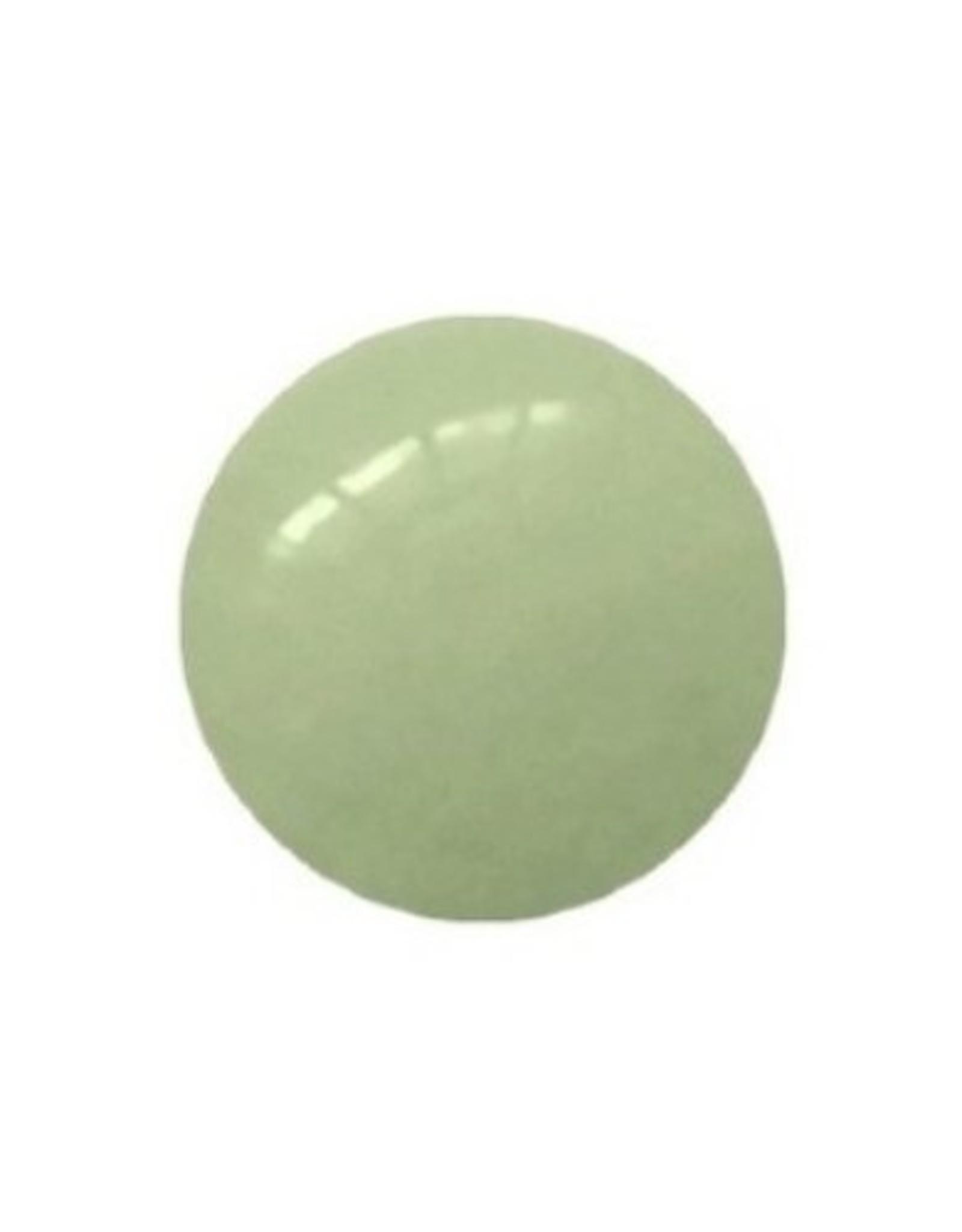 Interchangeable gemstone Jade green 12 mm