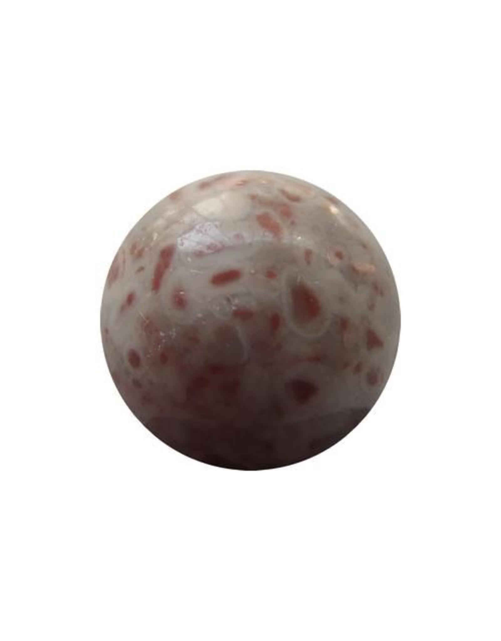 Wisselsteen rode kamballa Jaspis 12 mm
