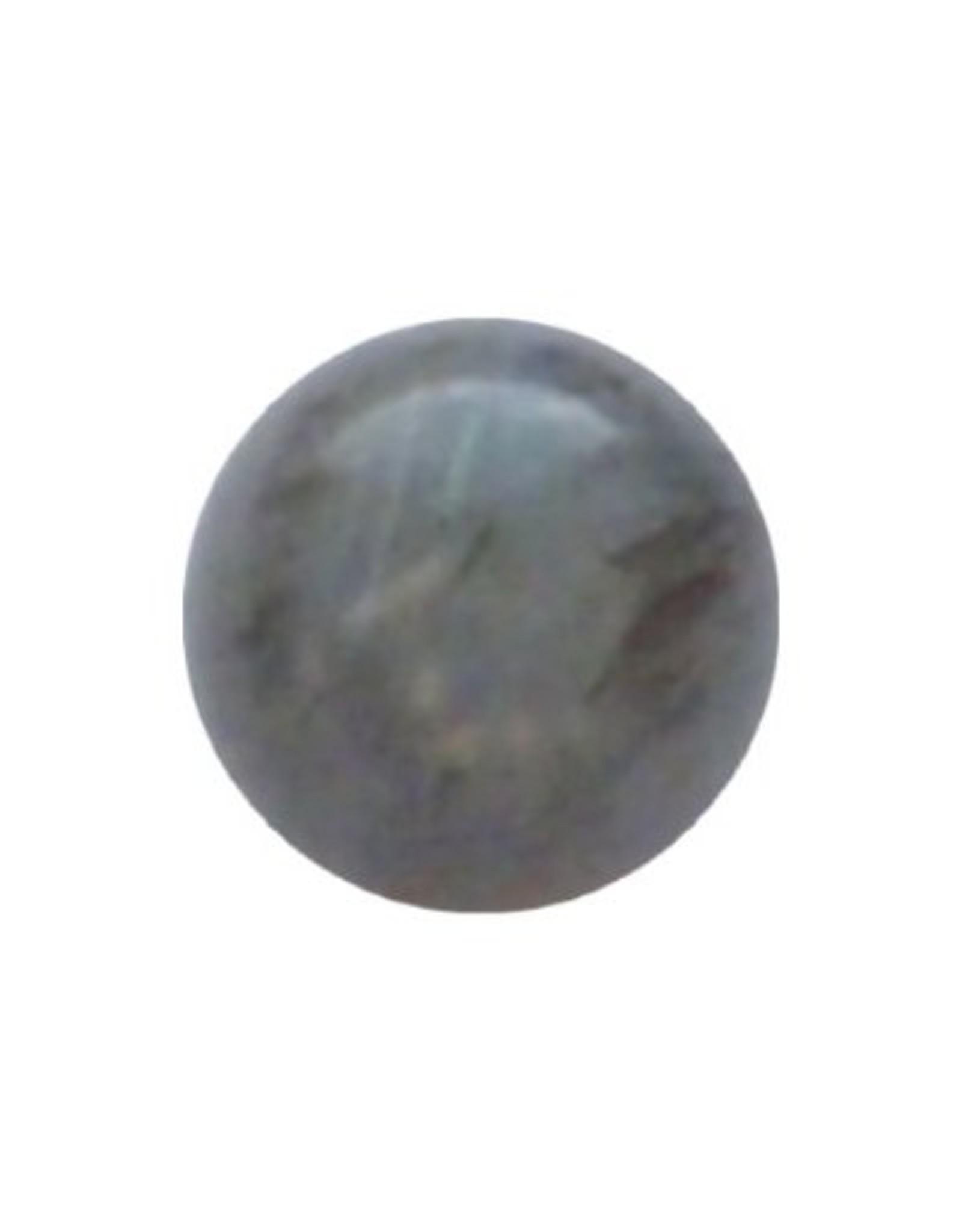 Interchangeable gemstone Labradorite 10 mm