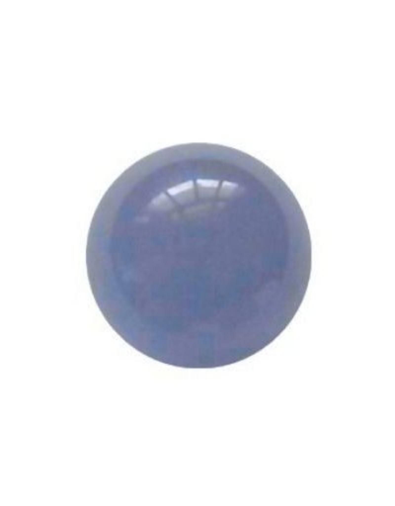 Wisselsteen Agaat blauw 12 mm