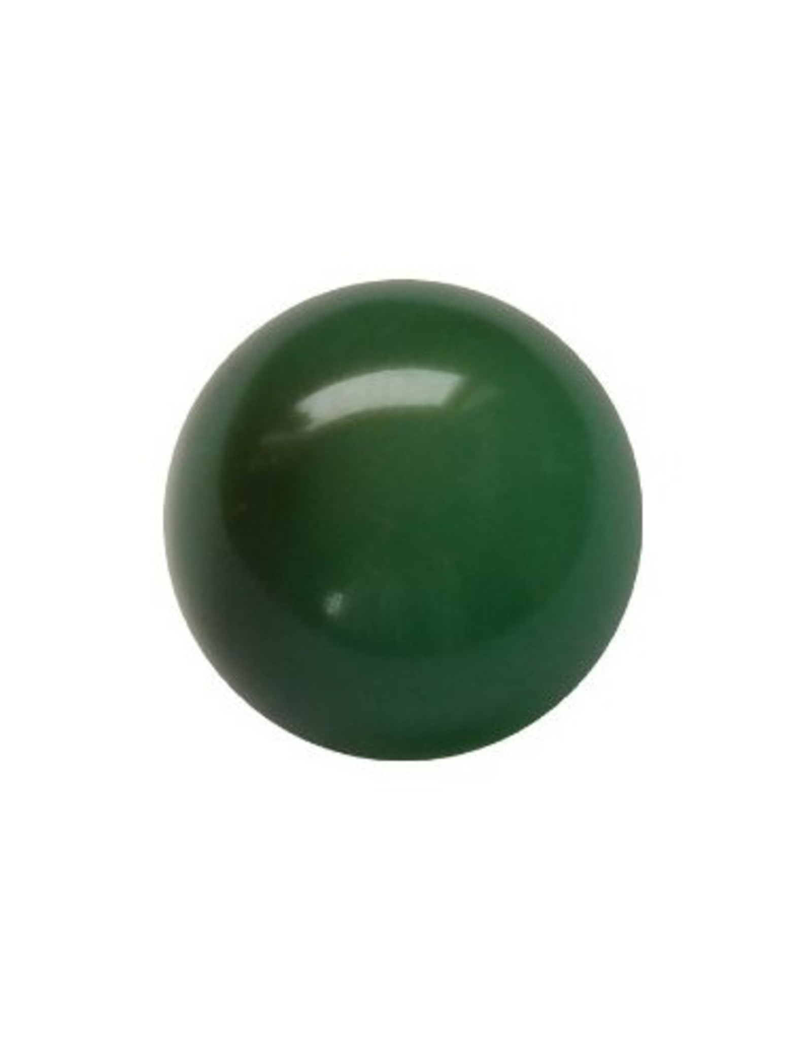 Interchangeable gemstone Agate green