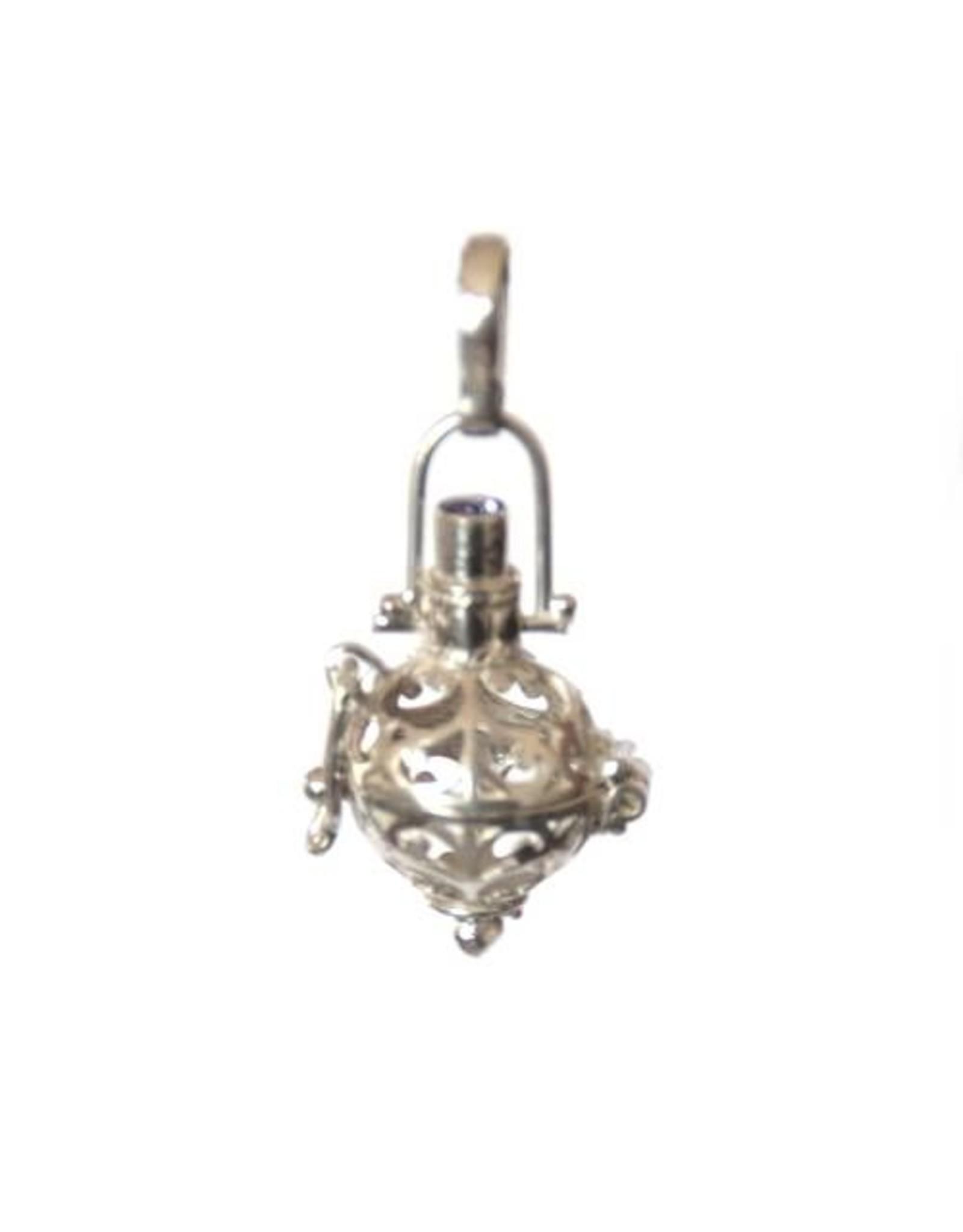 Gemstone holder pendant Bottle 10 mm