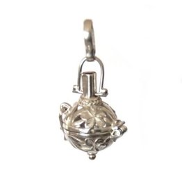 Gemstone holder pendant Bottle flower 10 mm