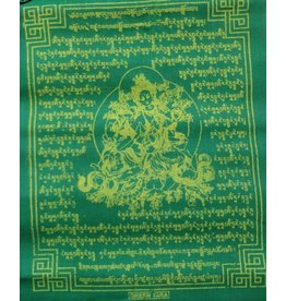 Dakini Tibetan prayer flags Green Tara