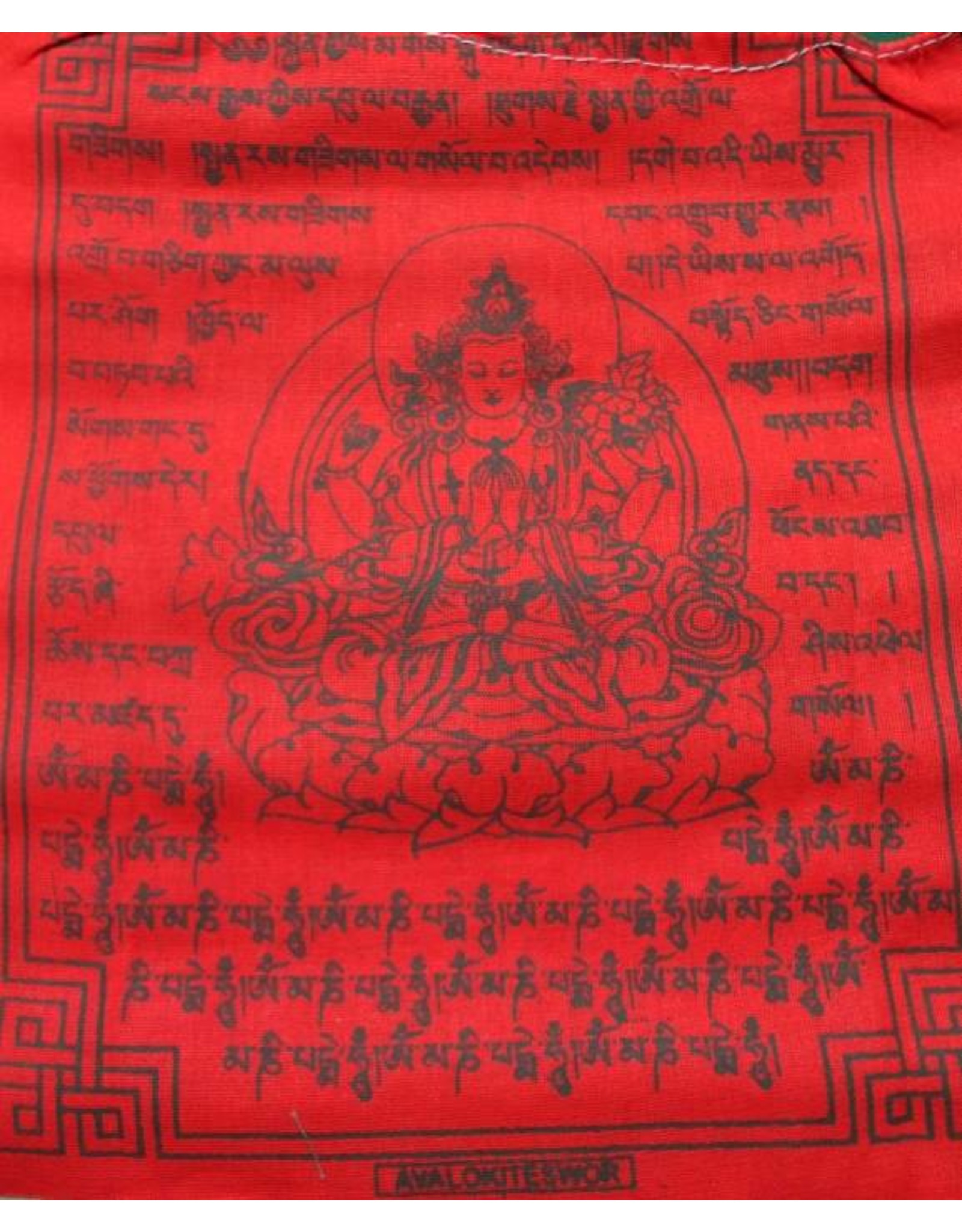 Dakini Tibetan prayer flags Avalokiteshvara