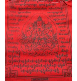 Dakini Tibetan prayer flags Avalokiteshvara