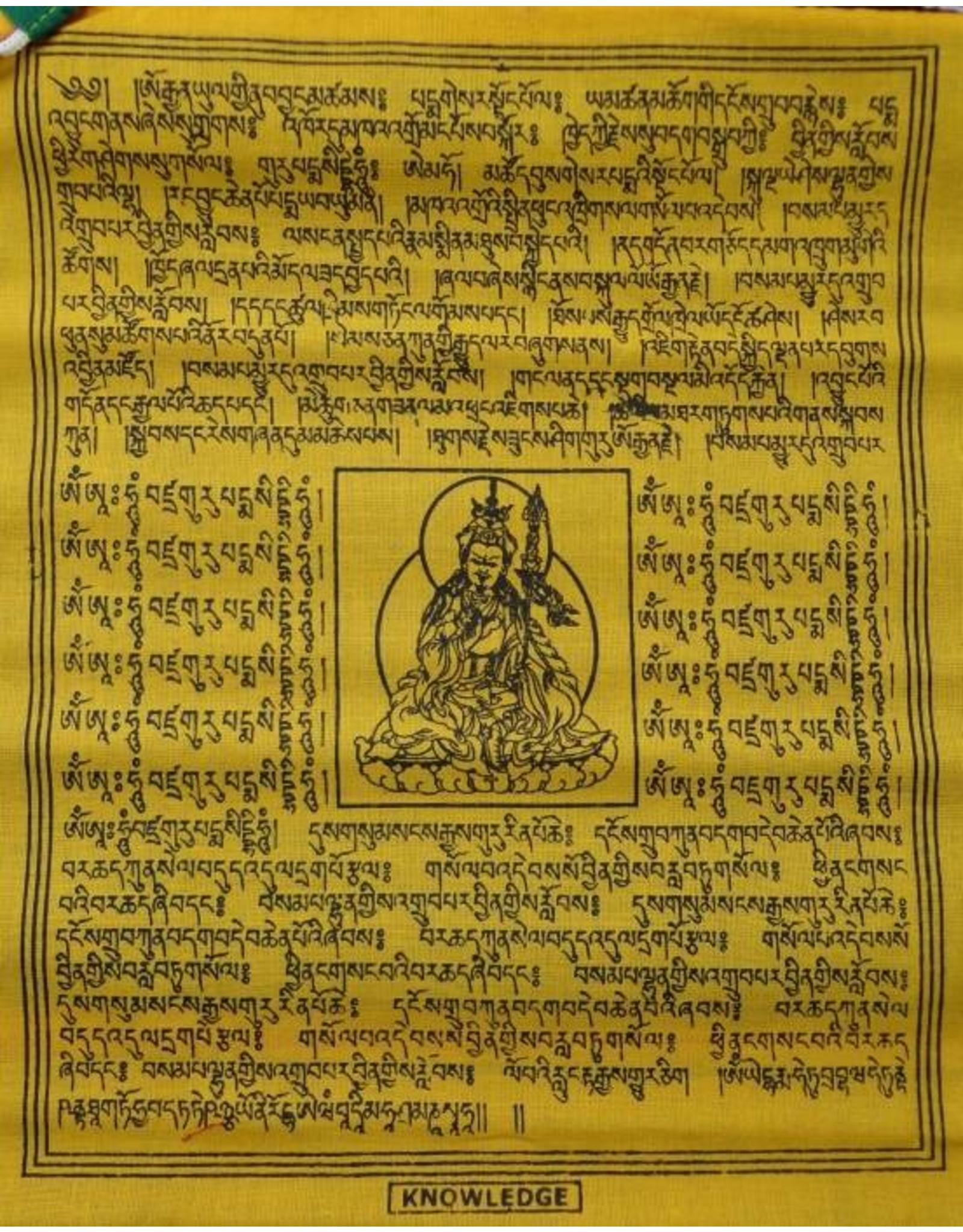 Dakini Tibetaanse gebedsvlaggen verticaal