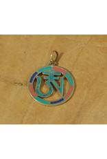 Dakini Tibetan pendant Tibetan Ohm