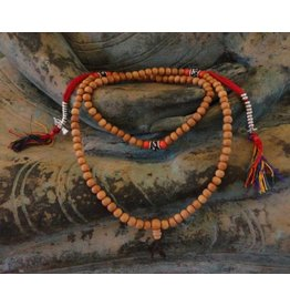 Dakini Mala rosewood Ohm with counters