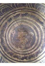 Dakini klankschaal met hum symbool