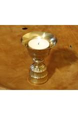 Dakini Tibetan butter lamp brass