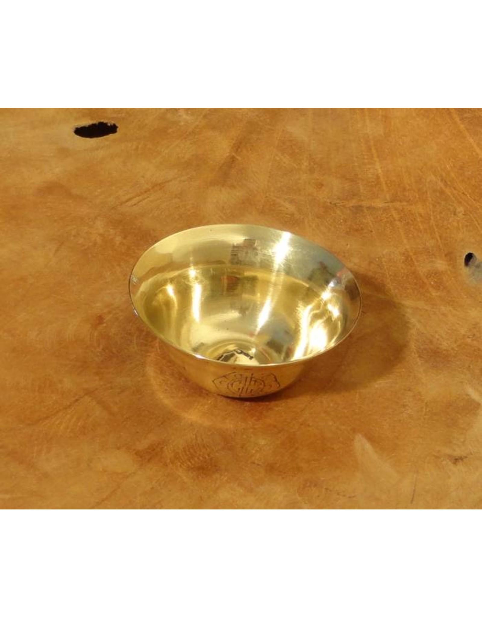 Dakini Tibetan offering bowl