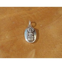 Dakini pendant birthday Buddha 6 saturday oval