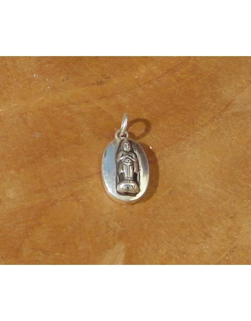 Dakini oval pendant birthday Buddha friday