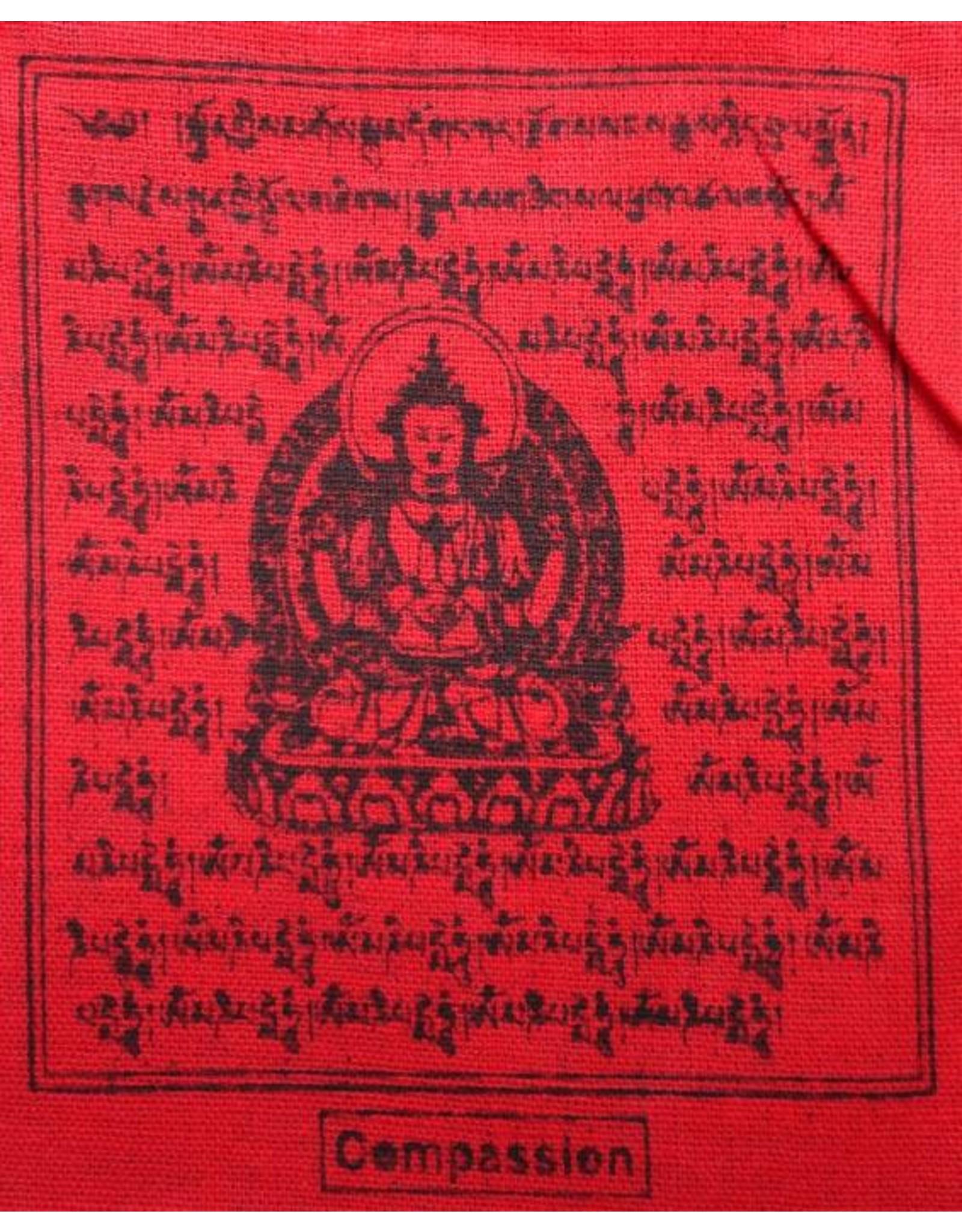 Dakini Tibetan prayer flags mini Taxi