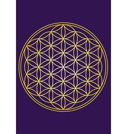ZintenZ postcard Flower of Life
