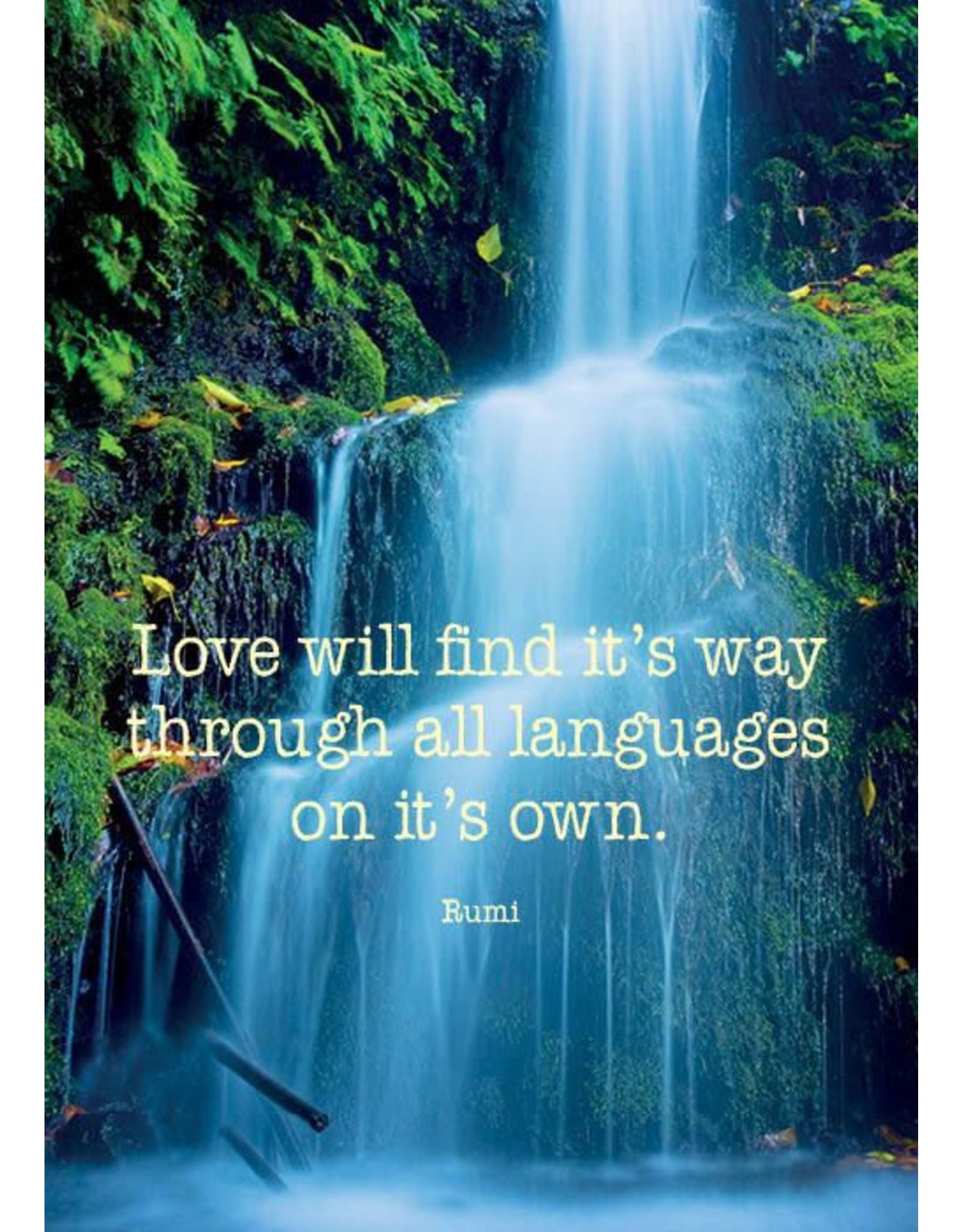 ZintenZ postcard Love will find it's way