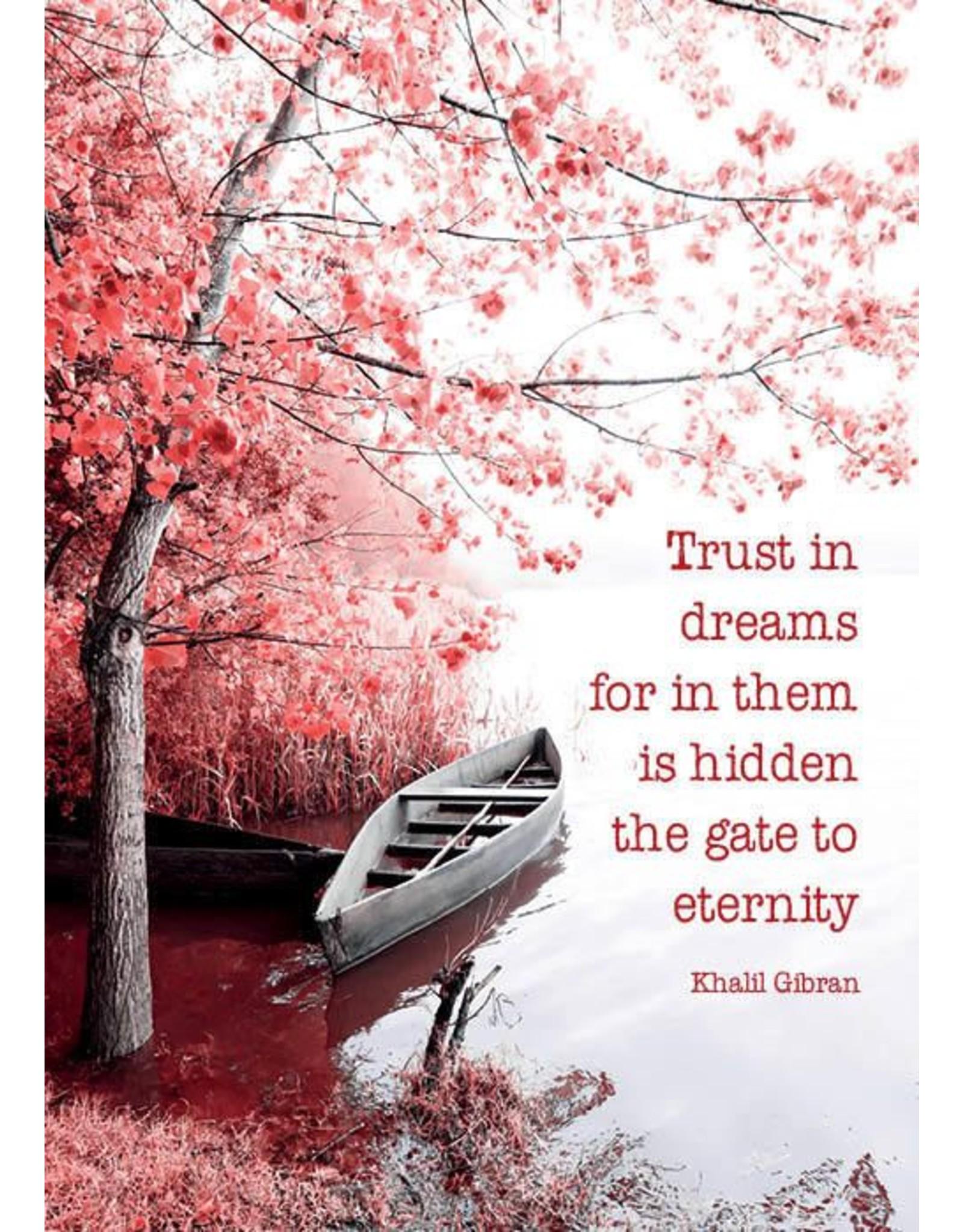 ZintenZ postcard Trust in dreams