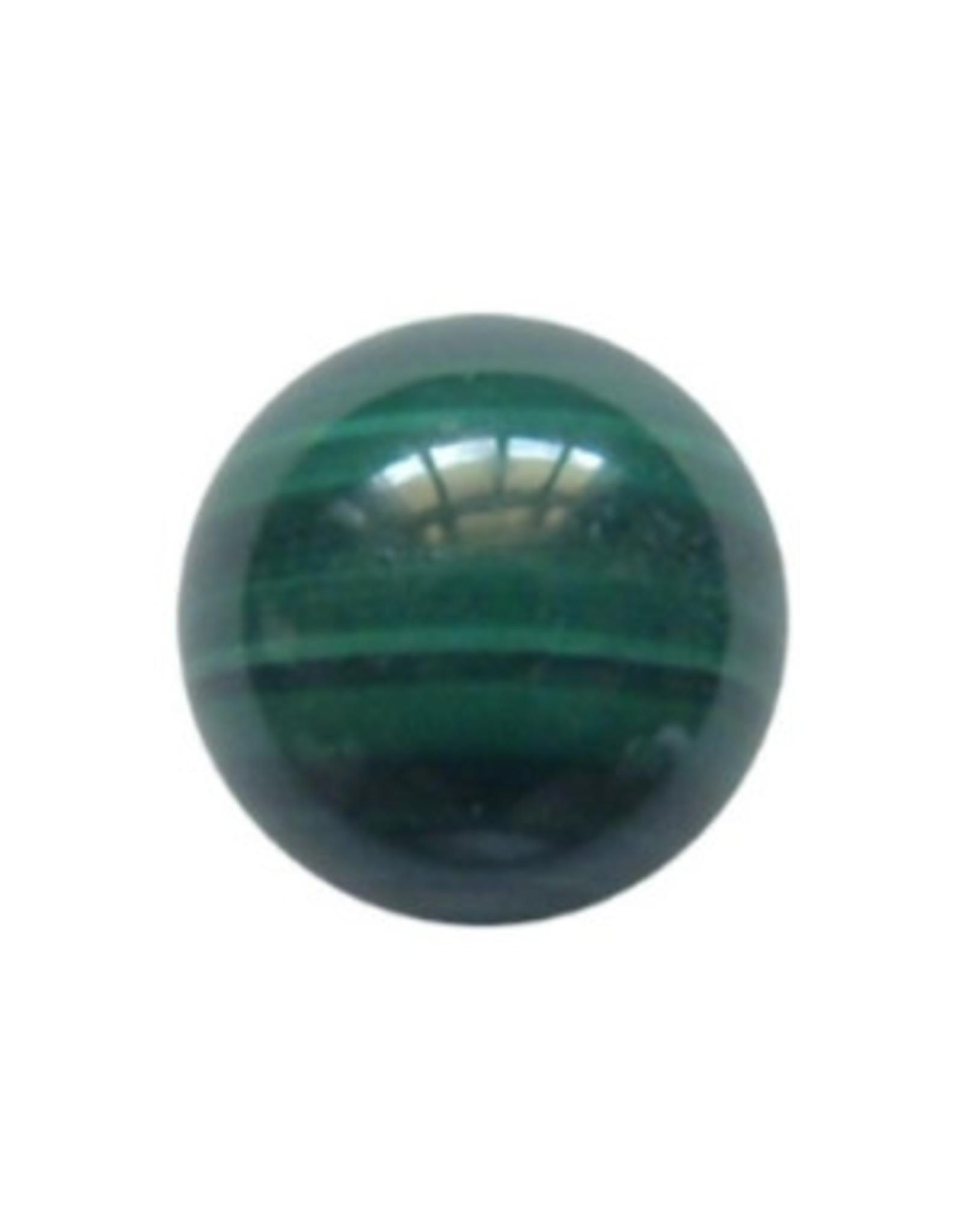 Interchangeable gemstone Malachite 10 mm