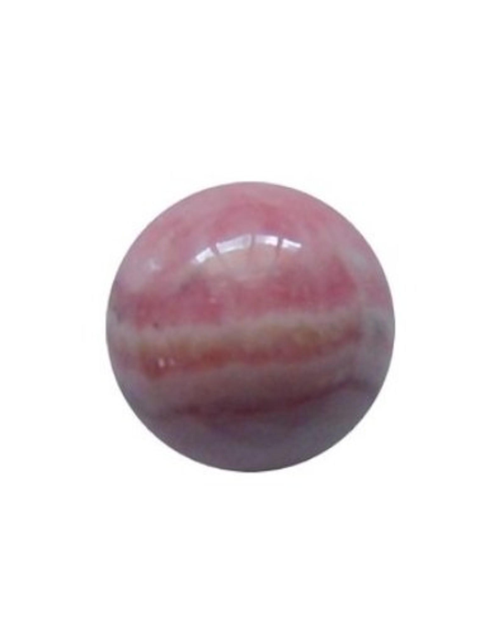 Interchangeable gemstone Rhodochrosite 12 mm