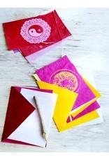 Postcard flags Love