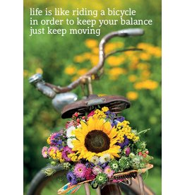 ZintenZ magneet Life is like riding