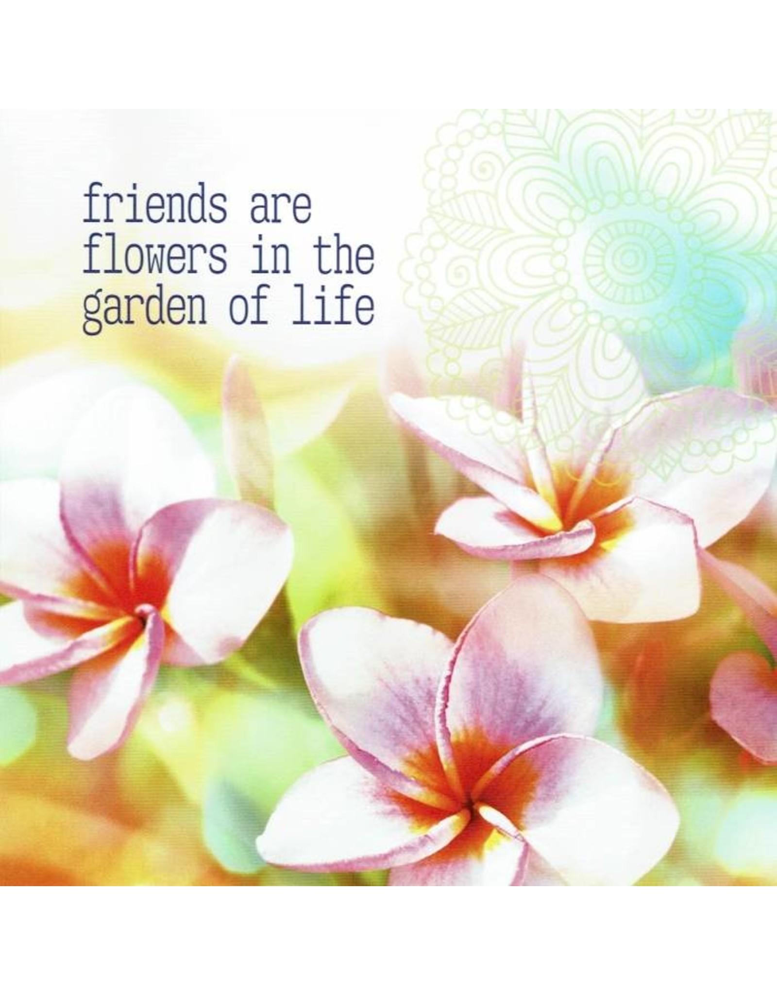 ZintenZ postcard Friends are flowers