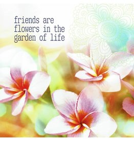 ZintenZ postcard Friends are flowers