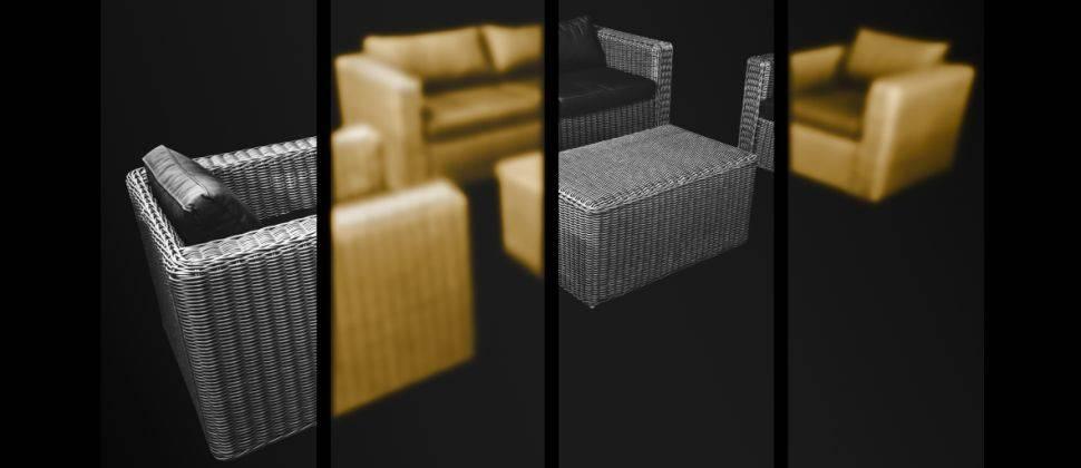 Vlechtwerk meubels