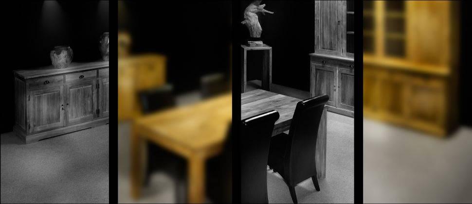 Muebles de interior de la teca
