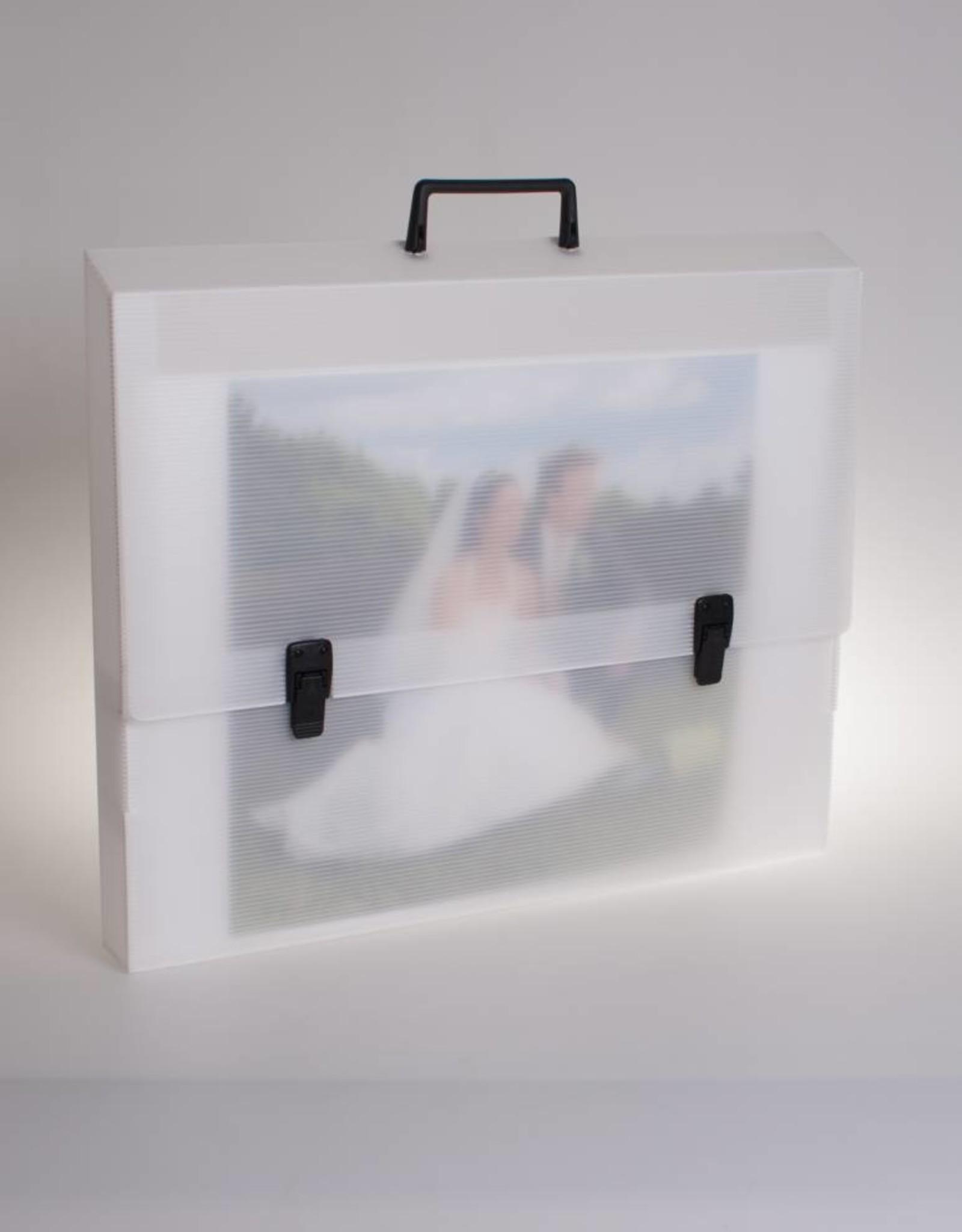 Portfoliokoffer (transparant)