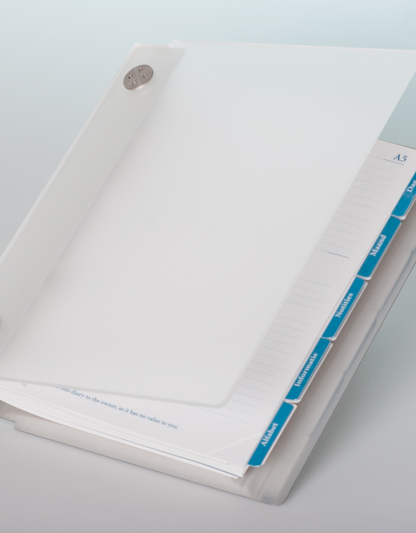 Agenda omslag Albano Desk Ice