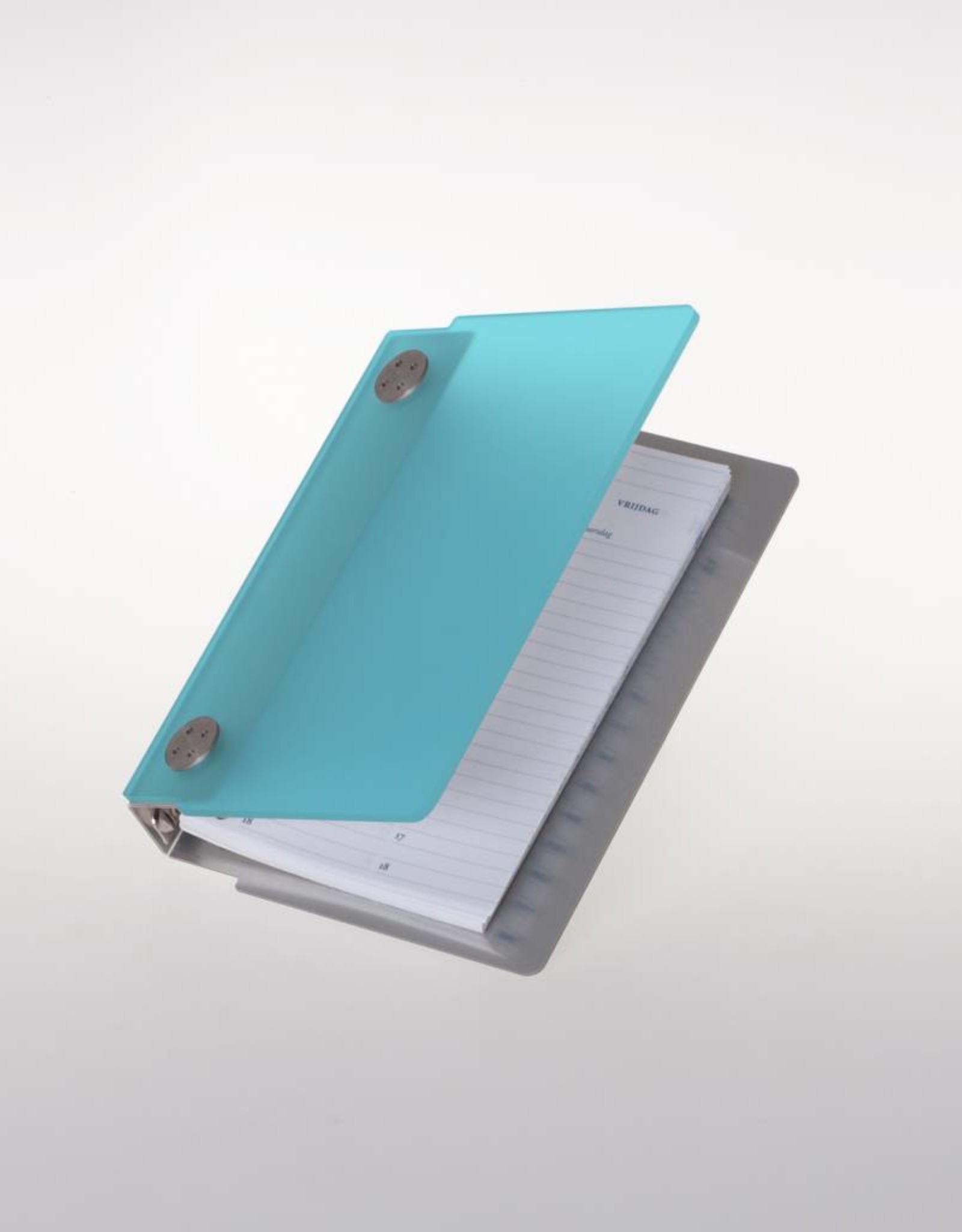 Agenda omslag Albano Case Aqua