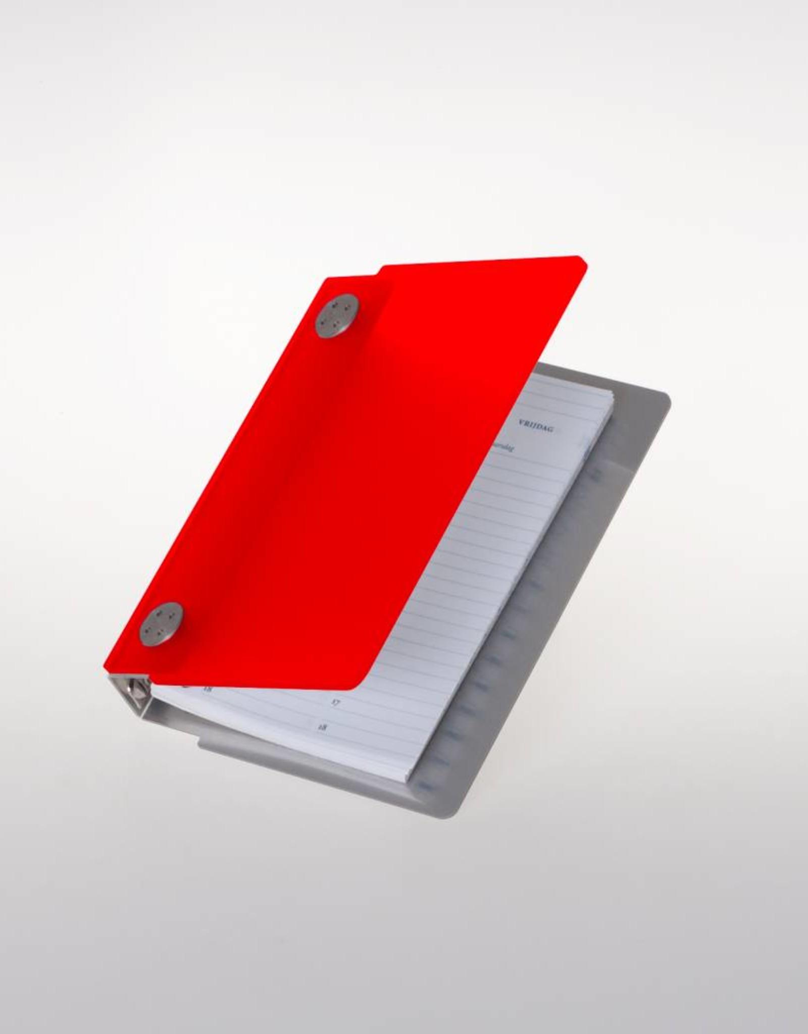 Agenda omslag Albano Case Chili-Red
