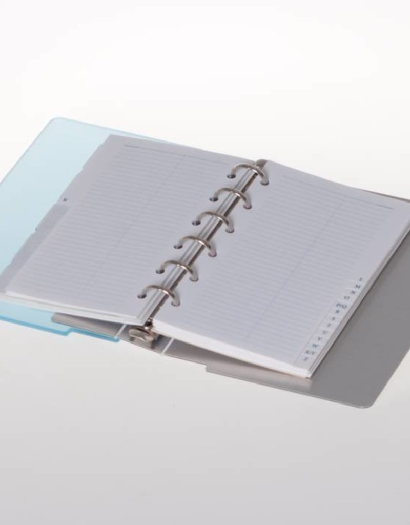 Agenda omslag Albano Pocket Aqua