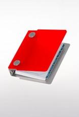 Agenda omslag Albano Pocket Chili-Red