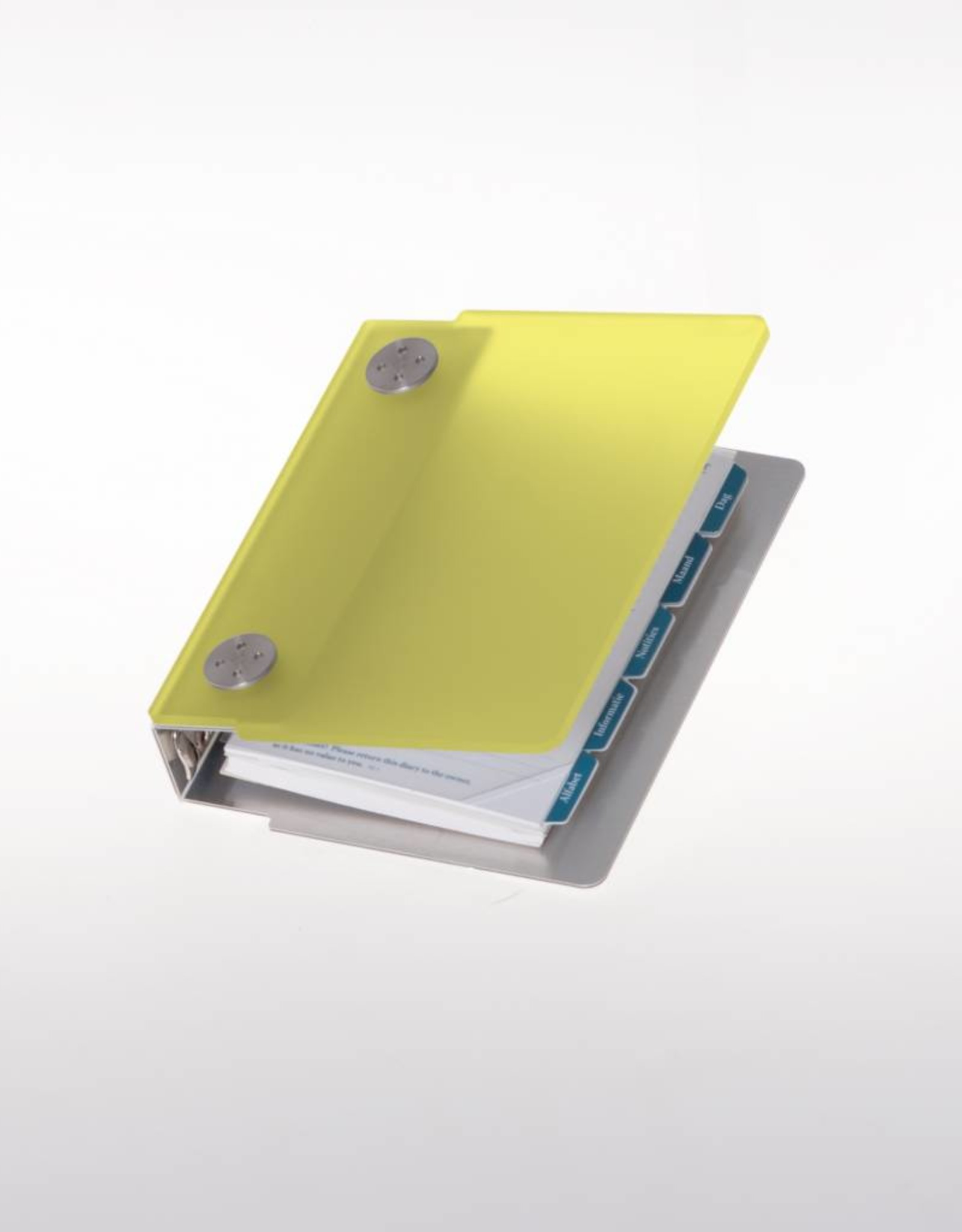 Agenda omslag Albano Pocket Lemon