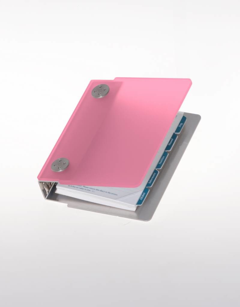 Agenda omslag Albano Pocket Pink
