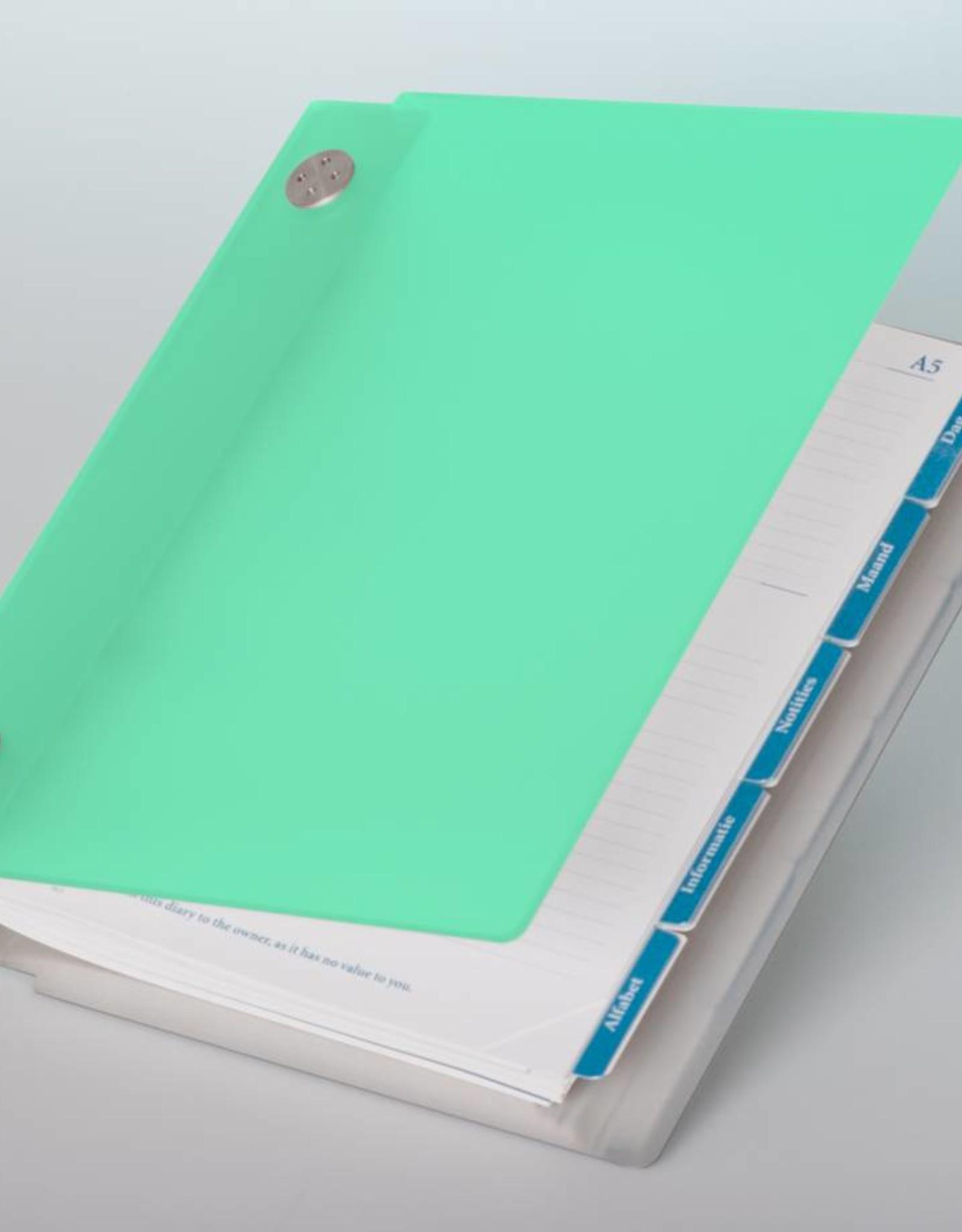 Agenda omslag Albano Desk Mint