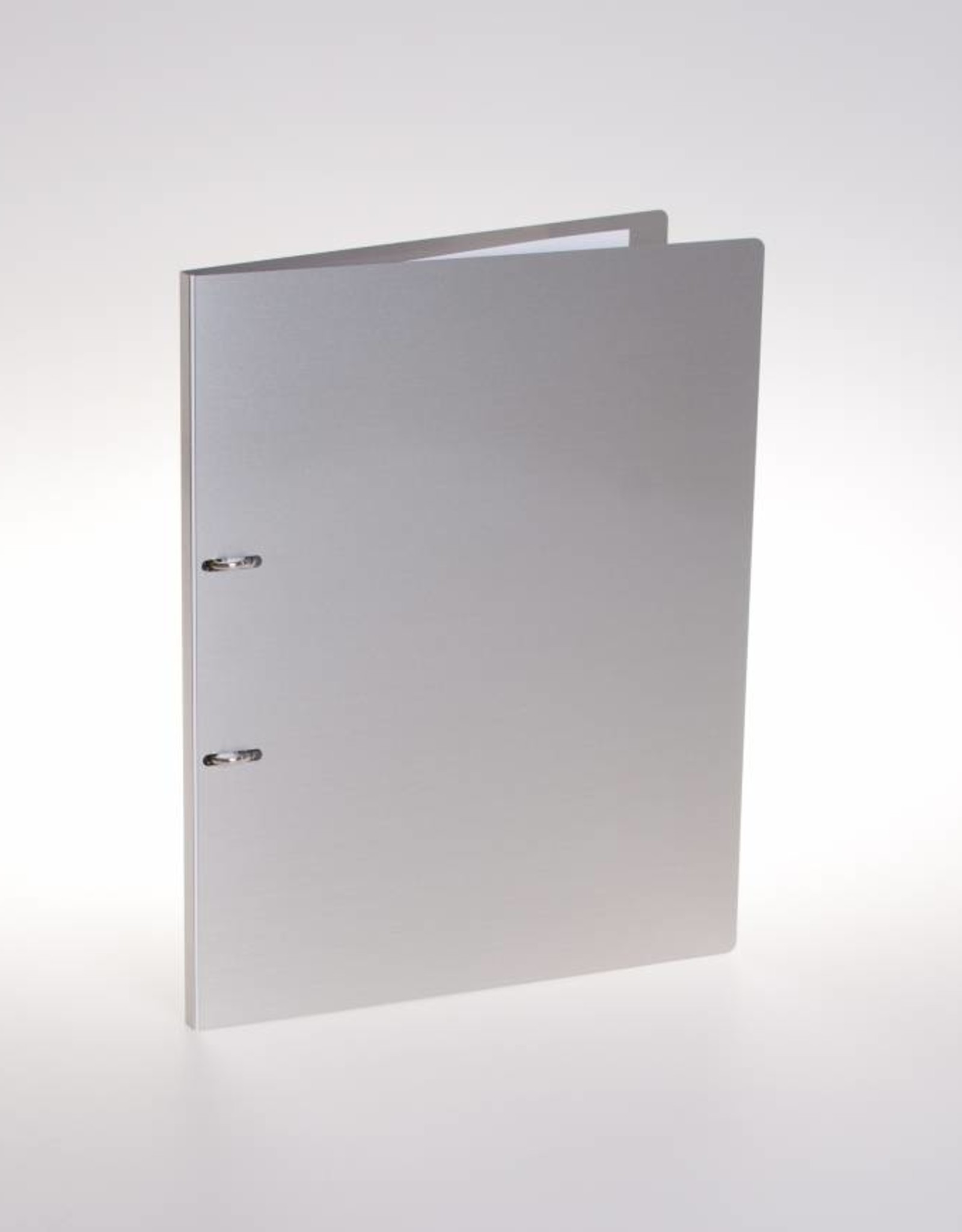 Ringbinder with 2 visible rings suitable for A4.