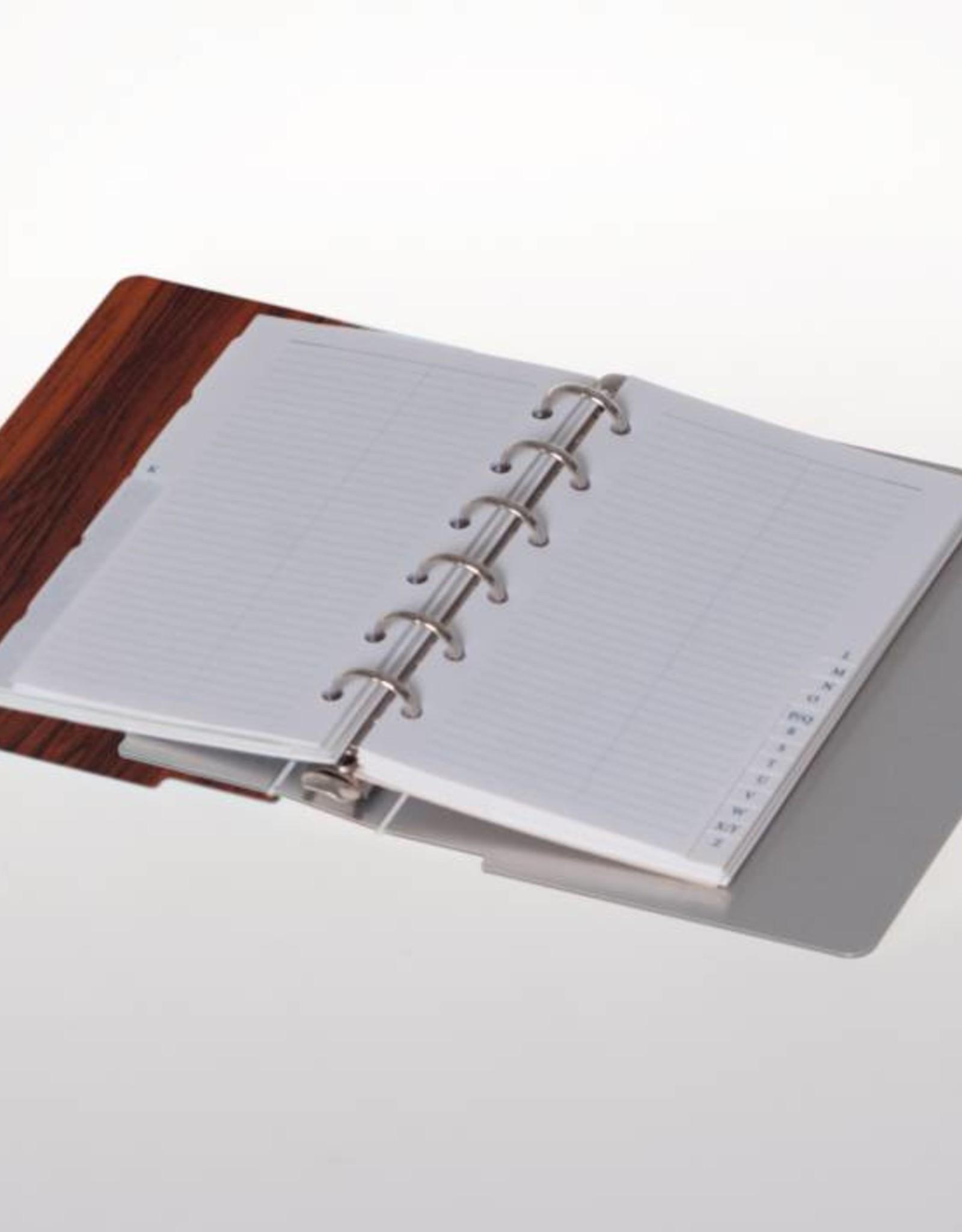 Agenda omslag Albano Pocket Rosewood